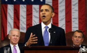 Obama delivers the State of the Union address