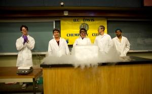 UC Davis Chemistry club at Picnic Day