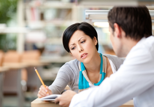 Teacher mentoring Student